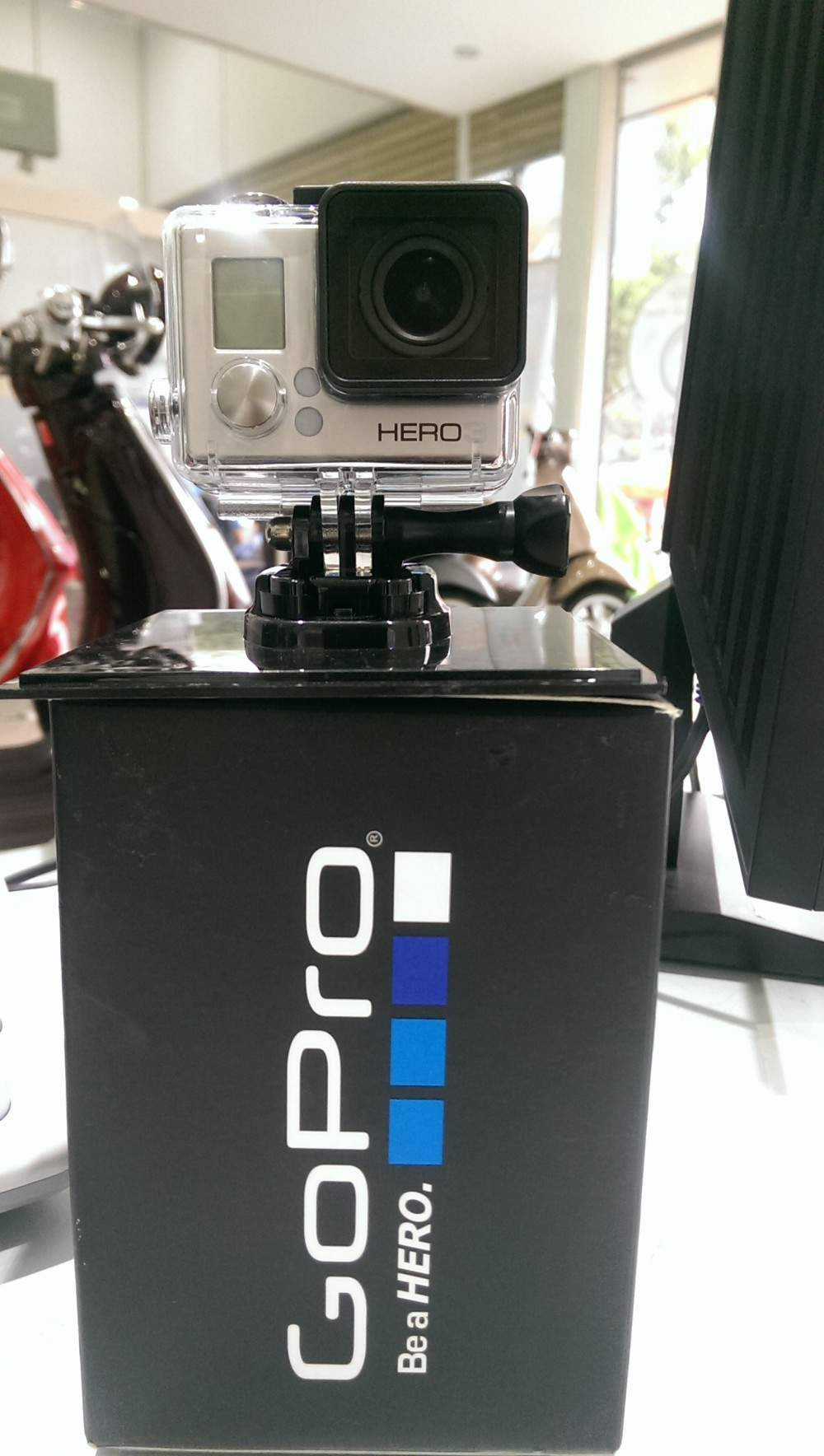CAMERA GoPro HERO 3FULL BOX 100 ON SEAL - 9