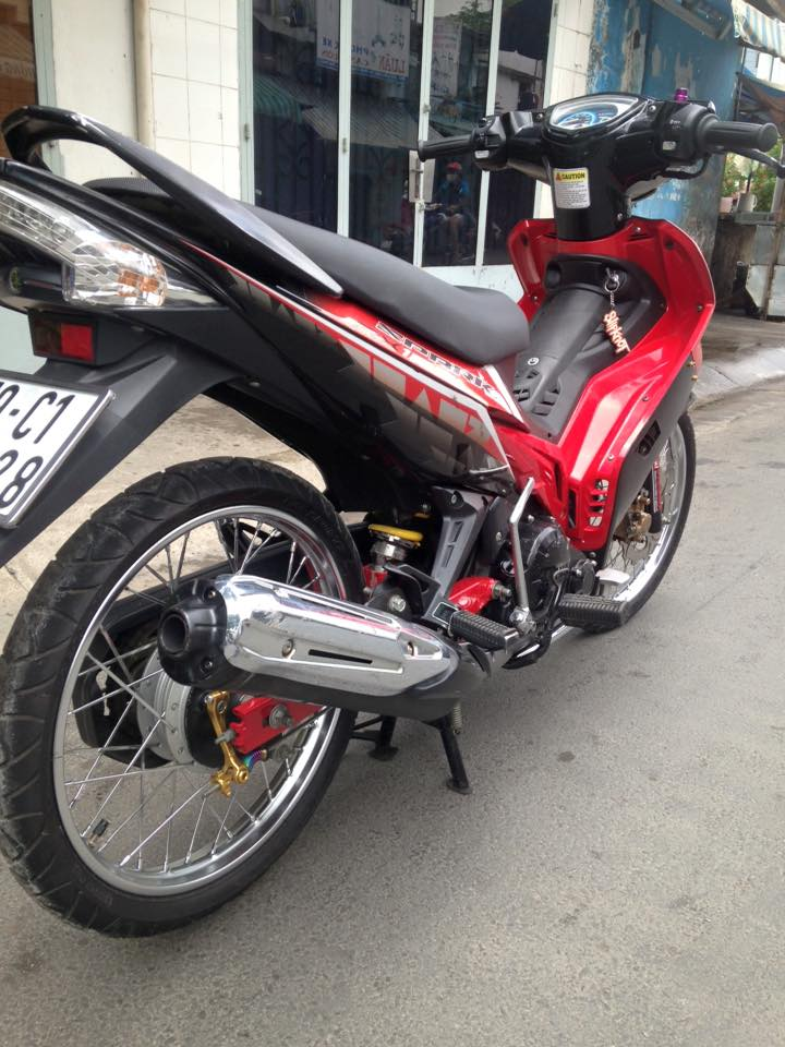 Chiec Exciter 2009 khong con don phong cach spark - 3