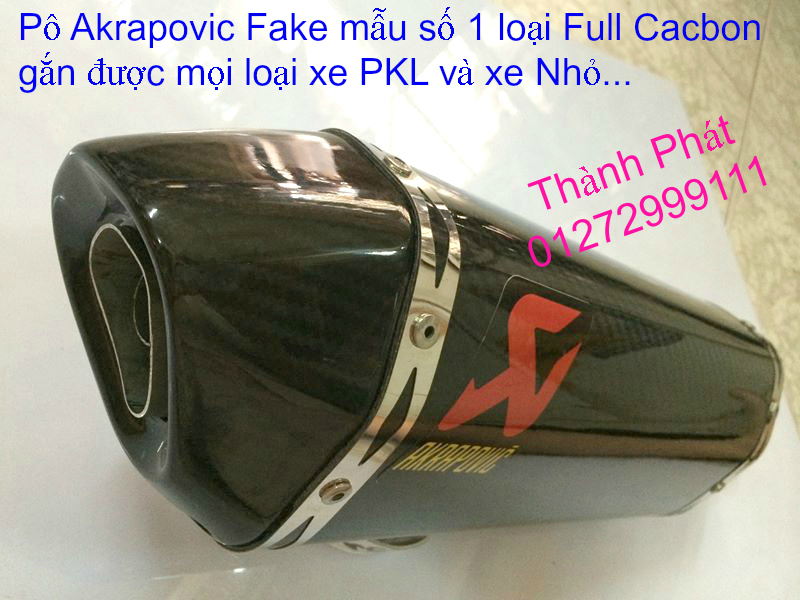 Po do Po kieu Co po 7 khuc AHM Akrapovic Yoshimura SC Project 2 Brother MIVV YYPANG Leov - 45