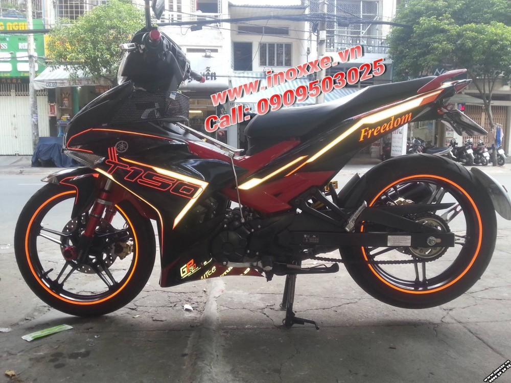 Do tem xe exciter 150 chat tai Hoang Tri Racing Shop