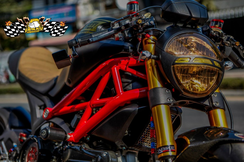 Ducati Monster 795 chat choi trong phien ban Cafe Racer - 3