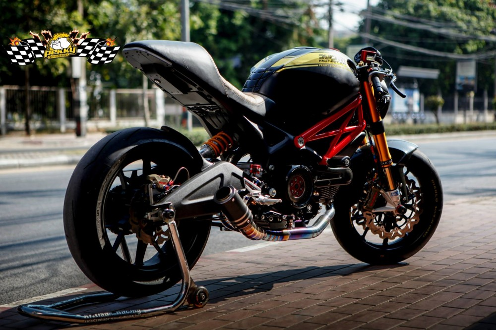 Ducati Monster 795 chat choi trong phien ban Cafe Racer - 5