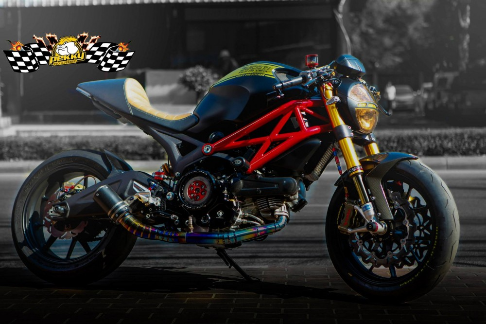 Ducati Monster 795 chat choi trong phien ban Cafe Racer - 6