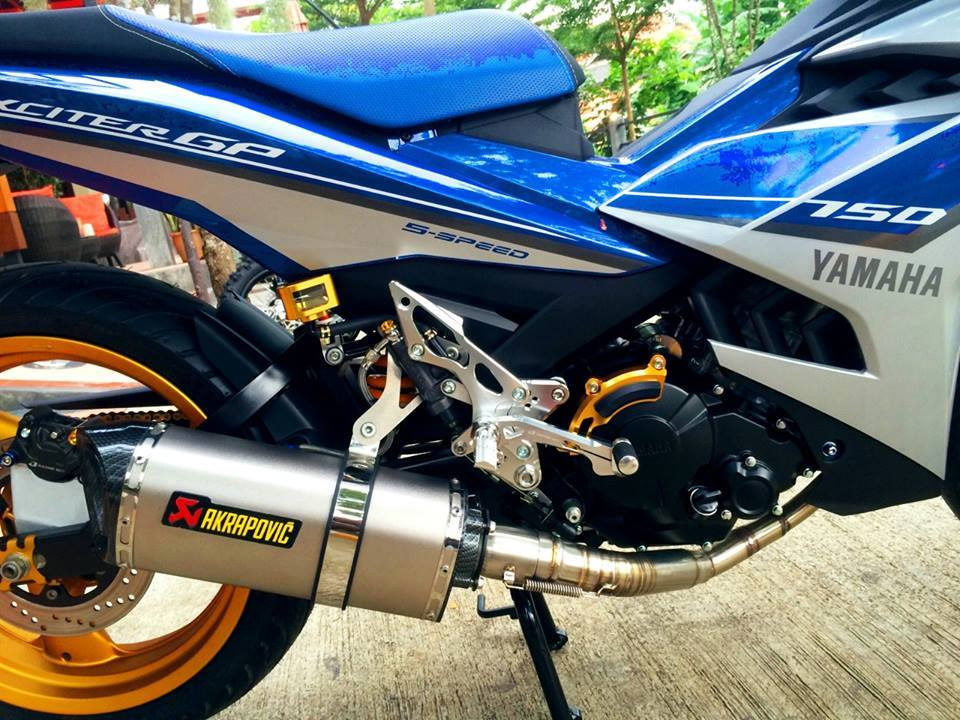 Exciter 150 Do doc voi dan chan khung - 3