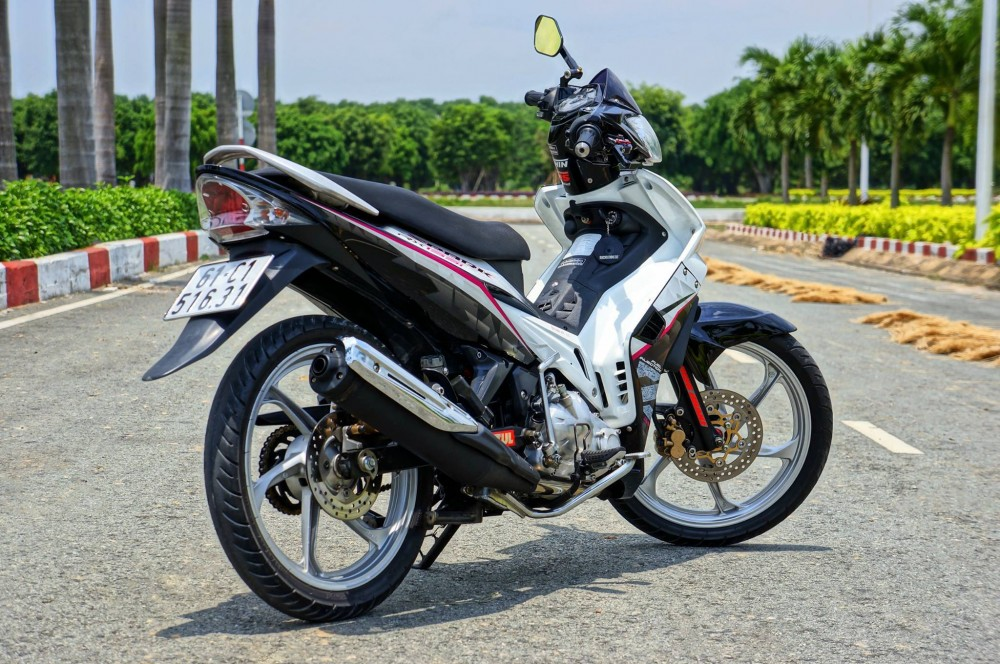 Exciter 2010 phong cach Spark rx135i - 7