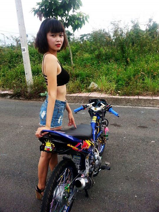 Exciter do Drag so dang cung nguoi mau hot - 3