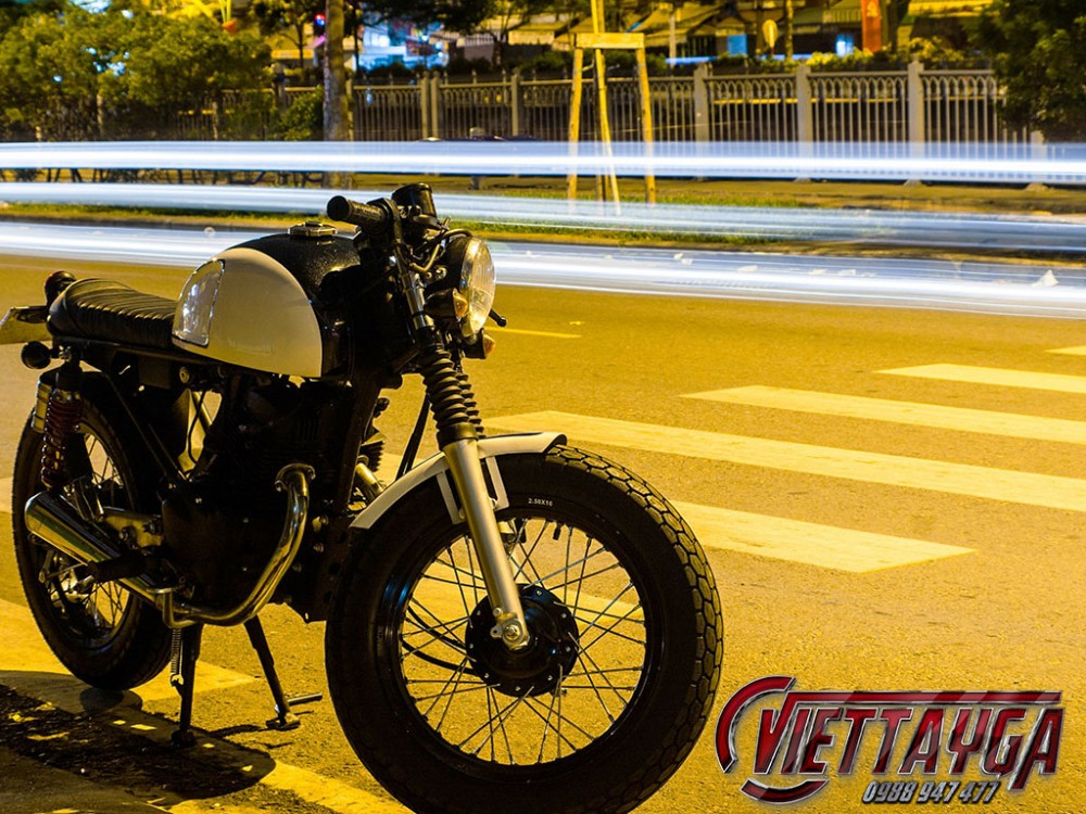 Honda CB 125 do cafe racer Ngon bo re - 10