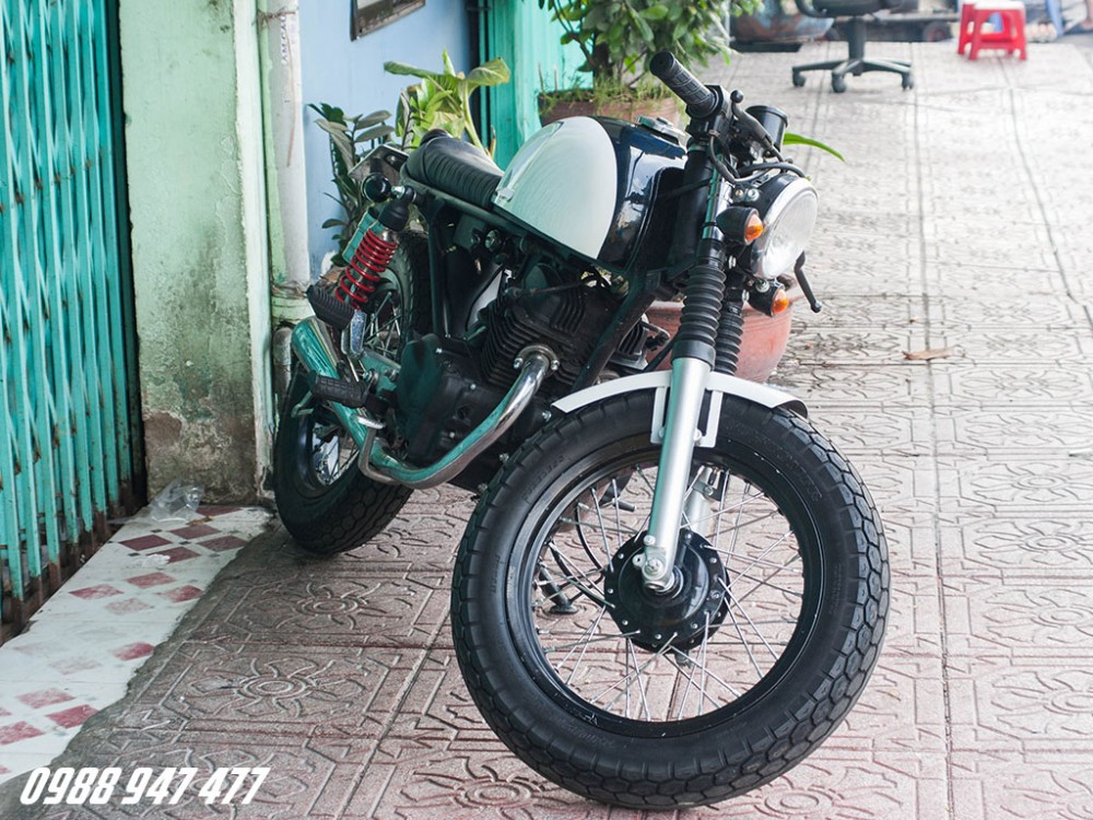 Honda CB 125 do cafe racer Ngon bo re - 4