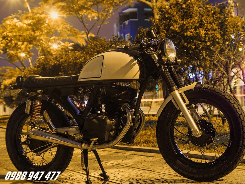 Honda CB 125 do cafe racer Ngon bo re - 8