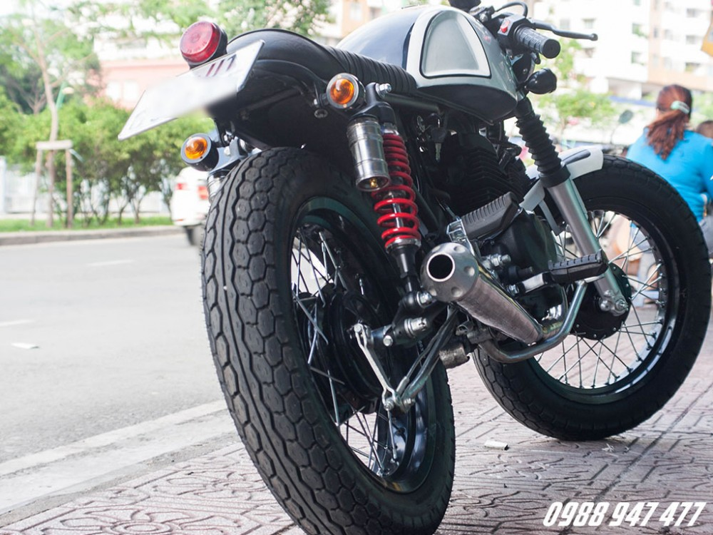 Honda CB 125 do cafe racer Ngon bo re - 7