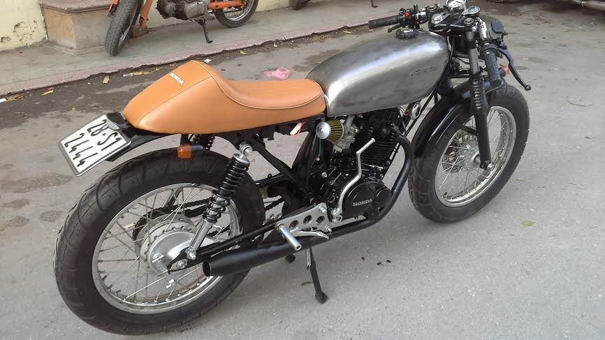 Honda CB 125 do cafe racer Ngon bo re - 2