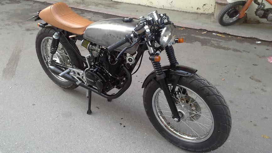 Honda CB 125 do cafe racer Ngon bo re - 3