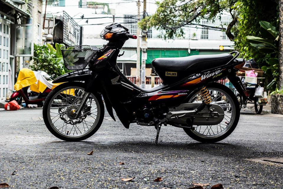 Honda Wave nho full bai do AZ - 2