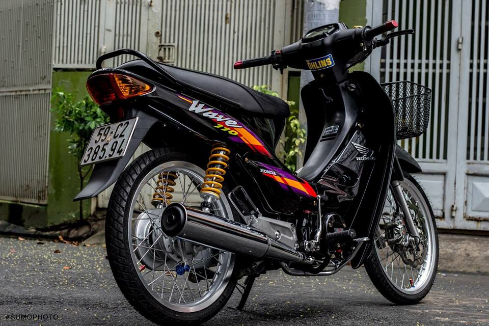 Honda Wave nho full bai do AZ - 8