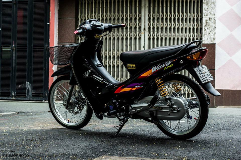 Honda Wave nho full bai do AZ - 9