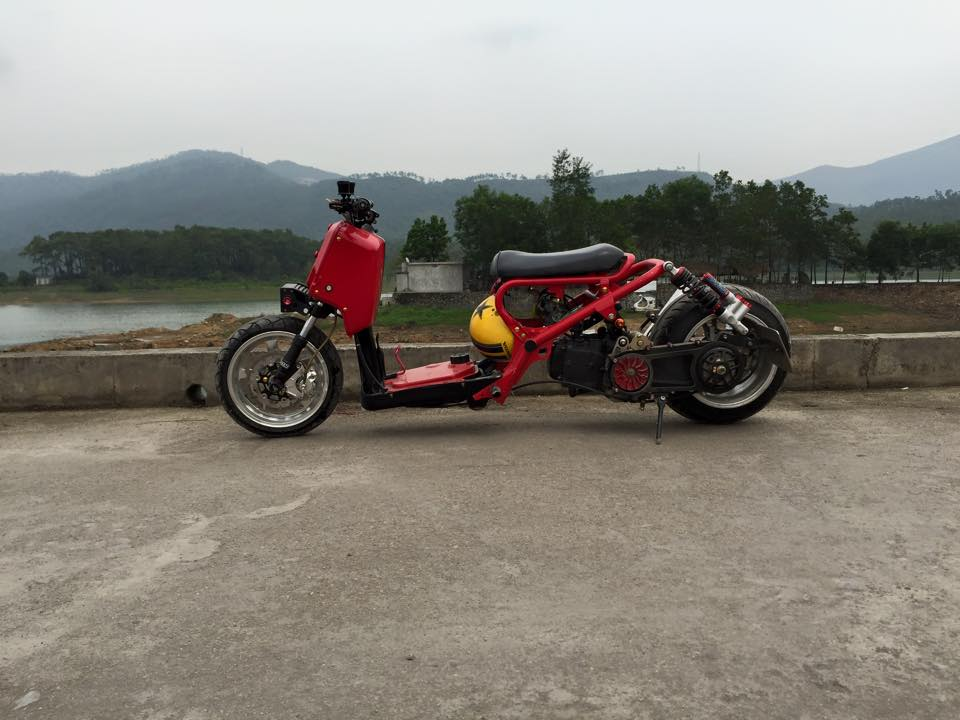 Honda ZoomerX mau xe scooter do ham ho