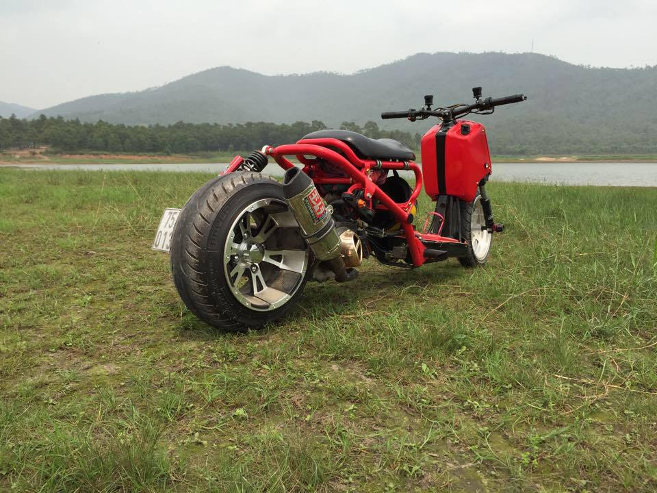 Honda ZoomerX mau xe scooter do ham ho - 4