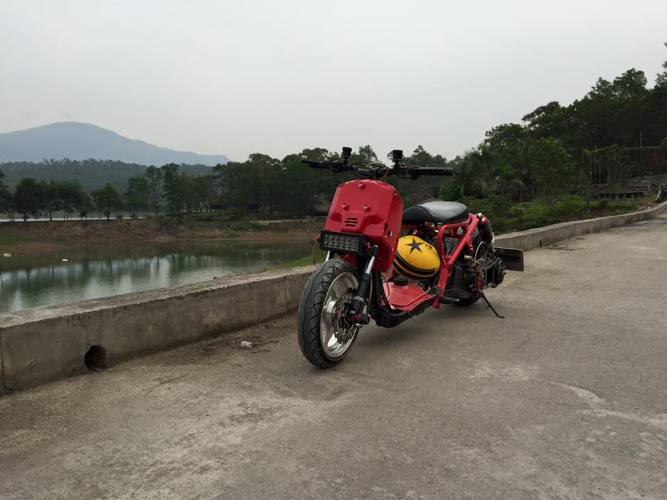 Honda ZoomerX mau xe scooter do ham ho - 5