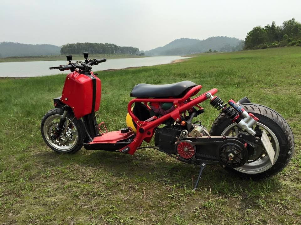 Honda ZoomerX mau xe scooter do ham ho - 9