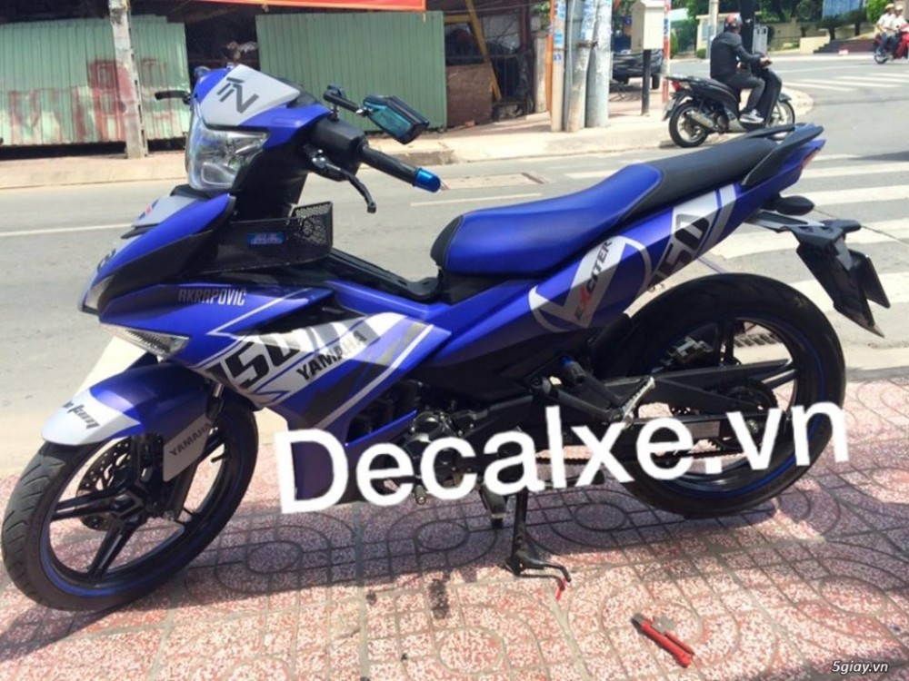 Tem xe Exciter 150 - 4