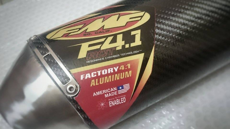 PO FMF Factory 41 CARBON - 2