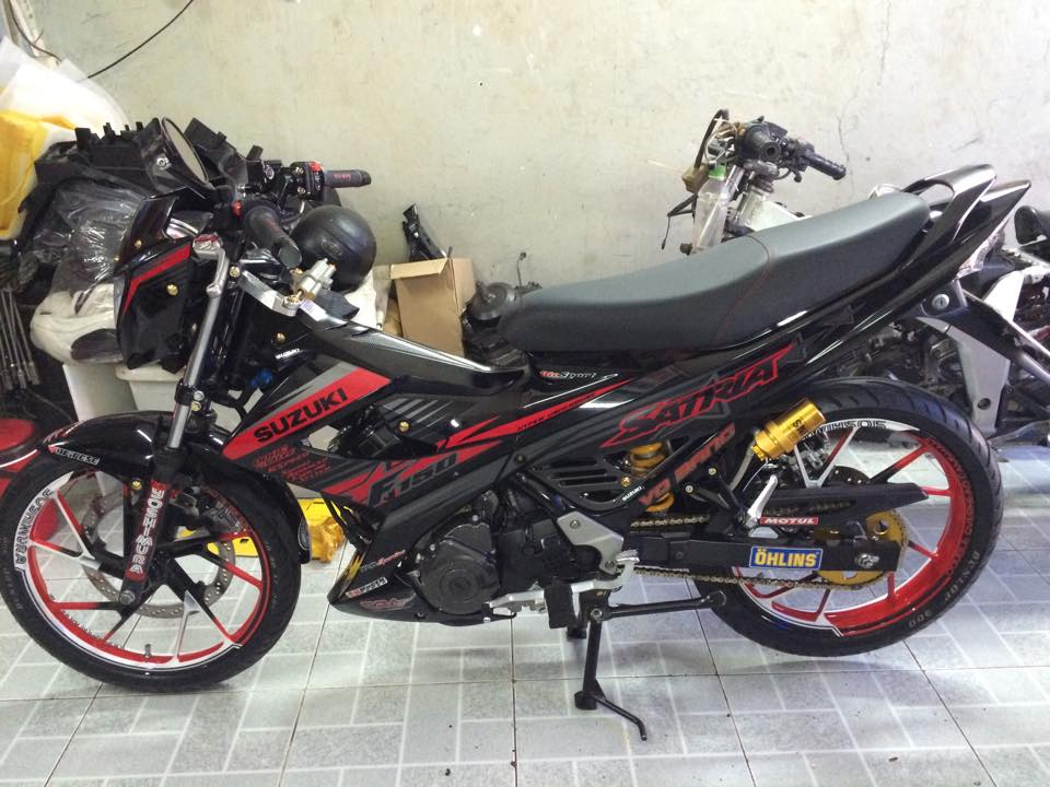 Suzuki Raider do don gian ma khong he don gian