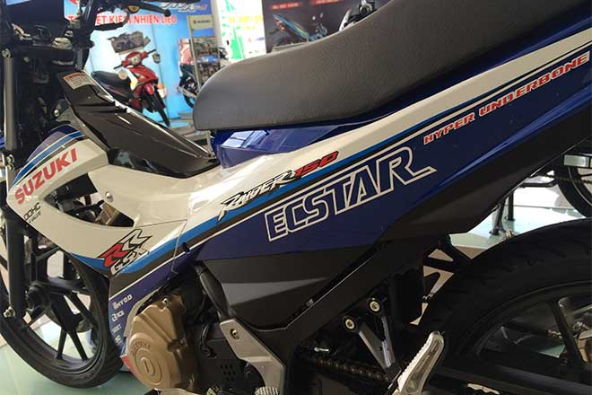 Suzuki Raider R150 la mat voi dan ao do tu dai ly chinh hang - 8