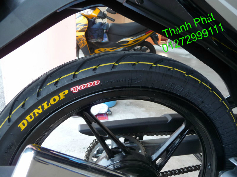 Vo lop xe may PKL va xe nho DunLop Michelin Briedgestone Continental IRC VeeRuber Swallow - 16