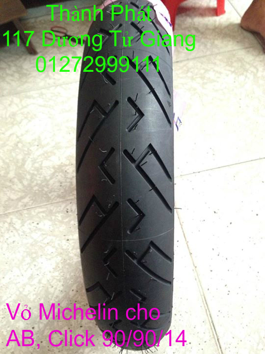 Vo lop xe may PKL va xe nho DunLop Michelin Briedgestone Continental IRC VeeRuber Swallow - 29