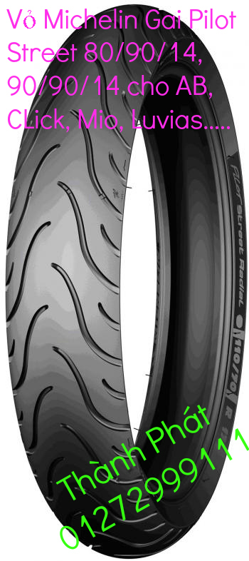 Vo lop xe may PKL va xe nho DunLop Michelin Briedgestone Continental IRC VeeRuber Swallow - 30