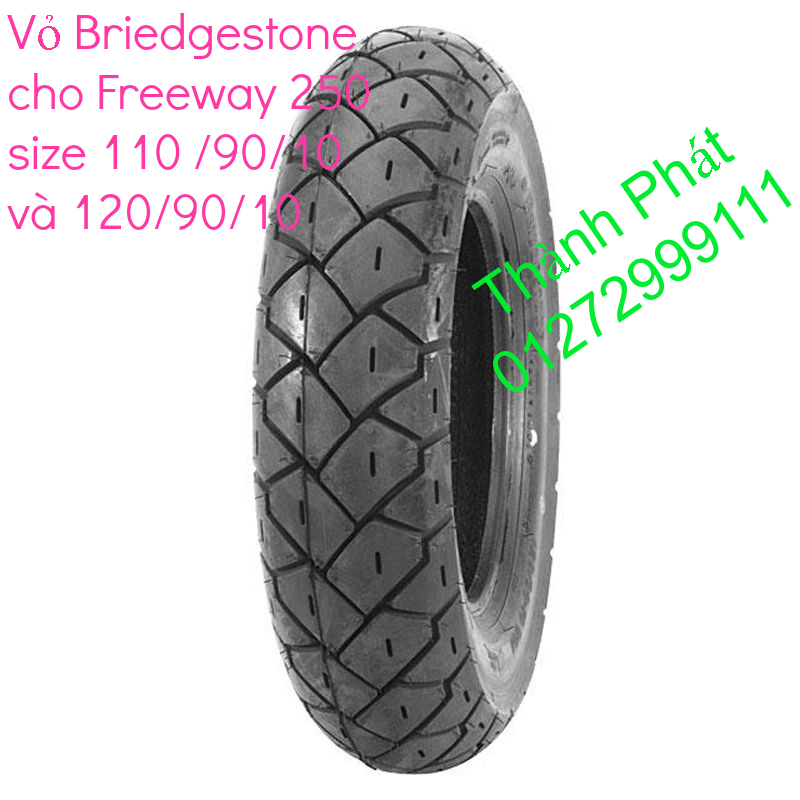 Vo lop xe may PKL va xe nho DunLop Michelin Briedgestone Continental IRC VeeRuber Swallow - 33