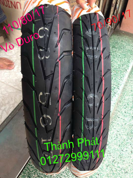 Vo lop xe may PKL va xe nho DunLop Michelin Briedgestone Continental IRC VeeRuber Swallow - 37