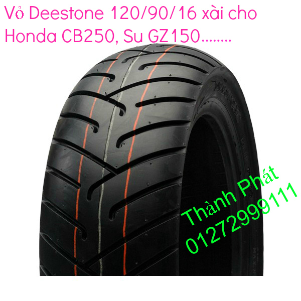 Vo lop xe may PKL va xe nho DunLop Michelin Briedgestone Continental IRC VeeRuber Swallow - 7