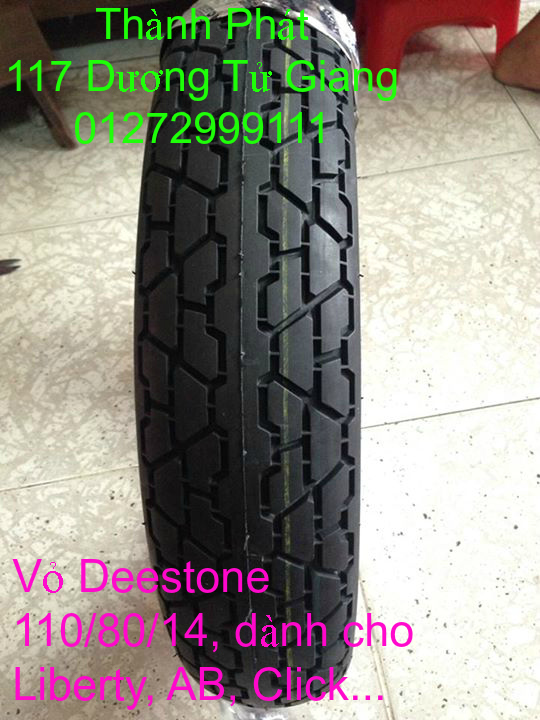 Vo lop xe may PKL va xe nho DunLop Michelin Briedgestone Continental IRC VeeRuber Swallow - 5