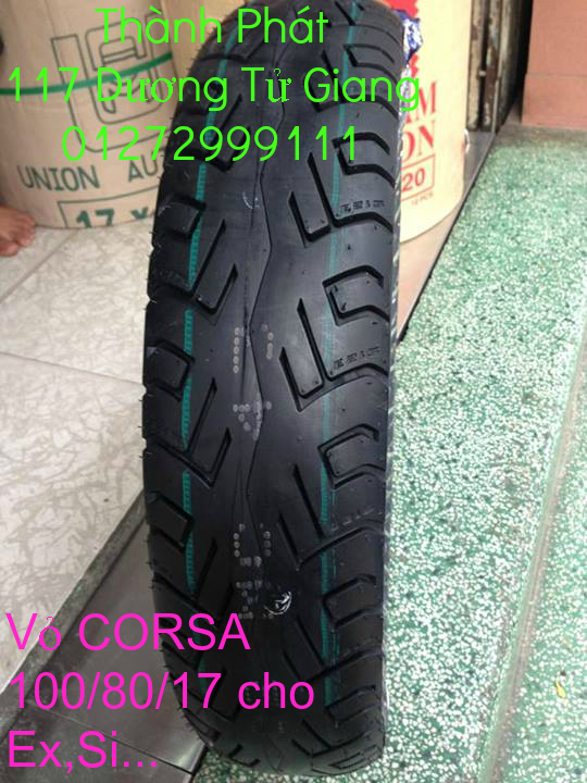 Vo lop xe may PKL va xe nho DunLop Michelin Briedgestone Continental IRC VeeRuber Swallow - 9