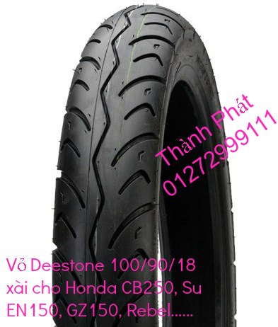 Vo lop xe may PKL va xe nho DunLop Michelin Briedgestone Continental IRC VeeRuber Swallow - 6