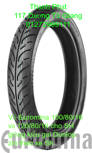 Vo lop xe may PKL va xe nho DunLop Michelin Briedgestone Continental IRC VeeRuber Swallow - 12
