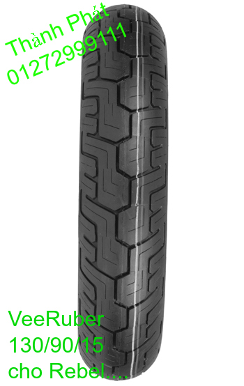 Vo lop xe may PKL va xe nho DunLop Michelin Briedgestone Continental IRC VeeRuber Swallow - 17