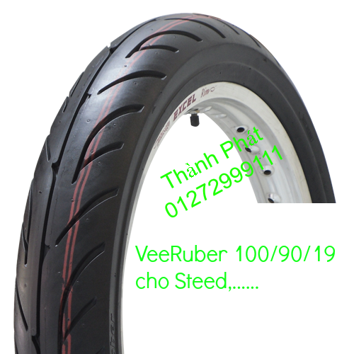Vo lop xe may PKL va xe nho DunLop Michelin Briedgestone Continental IRC VeeRuber Swallow - 19