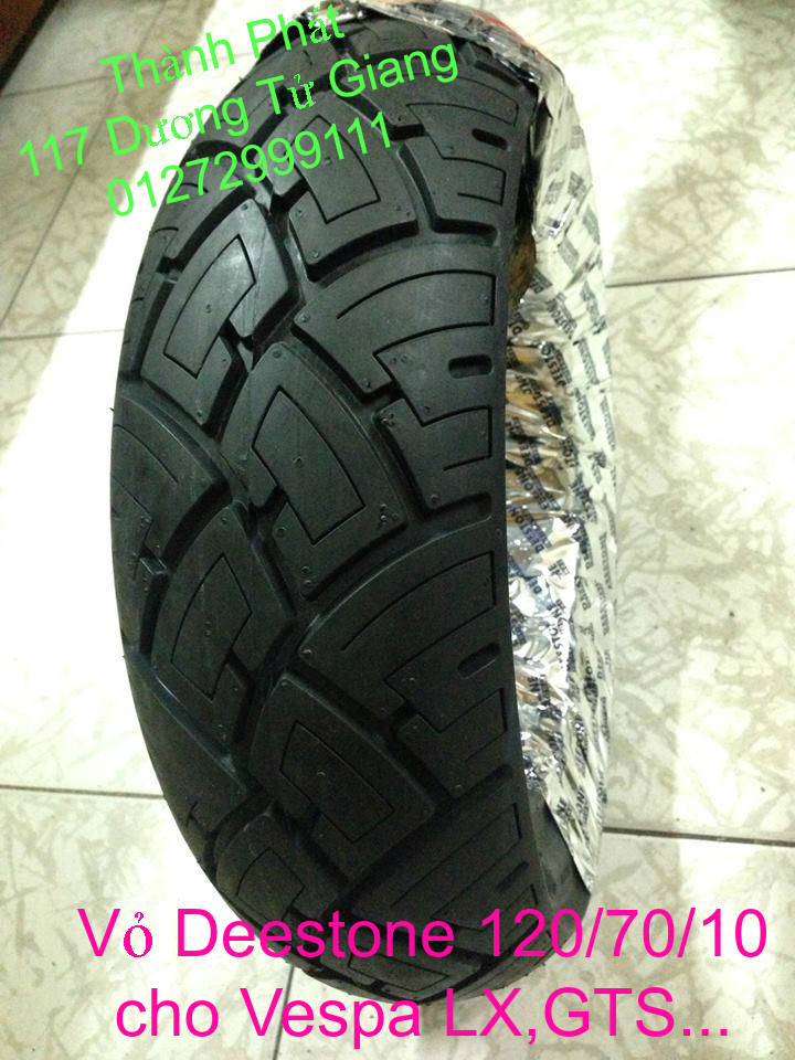 Vo lop xe may PKL va xe nho DunLop Michelin Briedgestone Continental IRC VeeRuber Swallow - 2