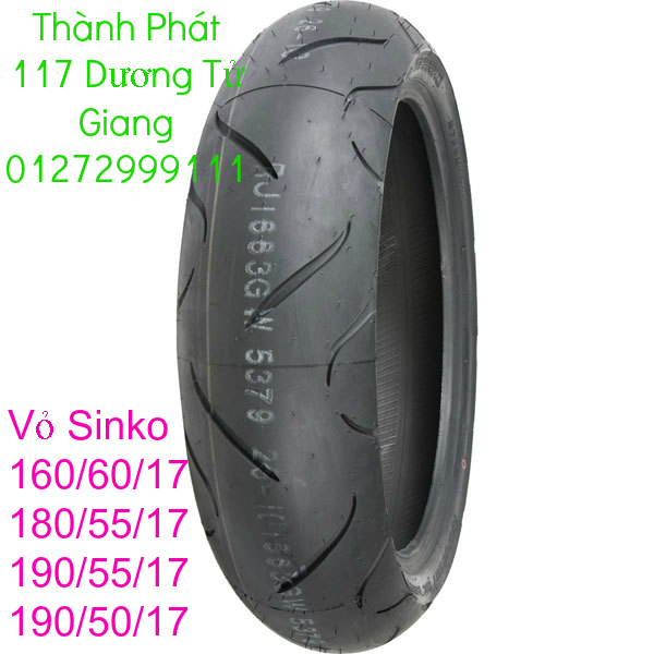 Vo lop xe may PKL va xe nho DunLop Michelin Briedgestone Continental IRC VeeRuber Swallow - 13