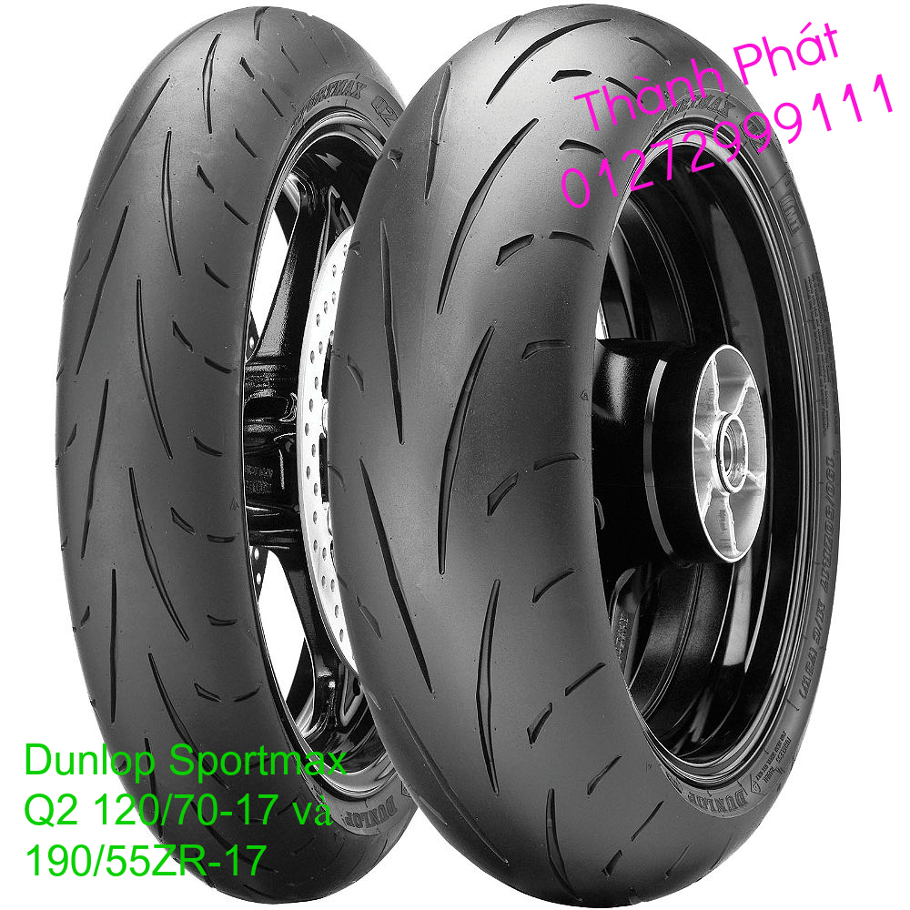 Vo lop xe may PKL va xe nho DunLop Michelin Briedgestone Continental IRC VeeRuber Swallow - 15
