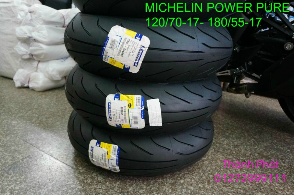 Vo lop xe may PKL va xe nho DunLop Michelin Briedgestone Continental IRC VeeRuber Swallow - 20