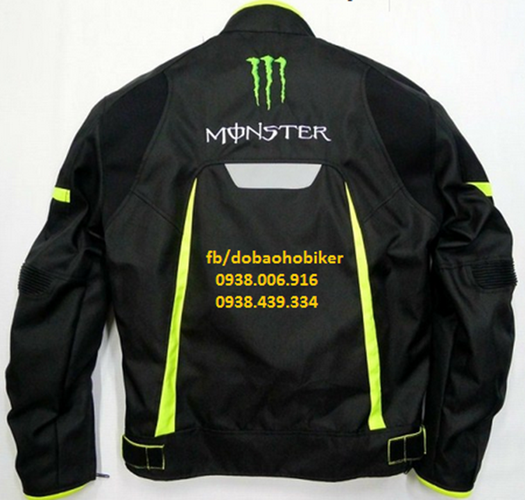 Ao giap di moto xe may Kawasaki Monster - 3