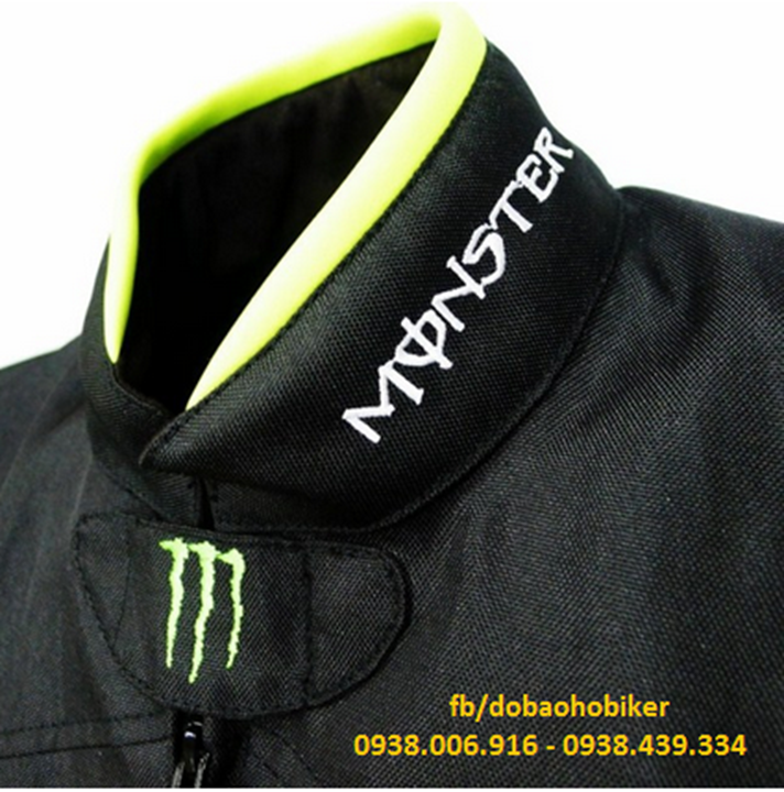 Ao giap di moto xe may Kawasaki Monster - 5