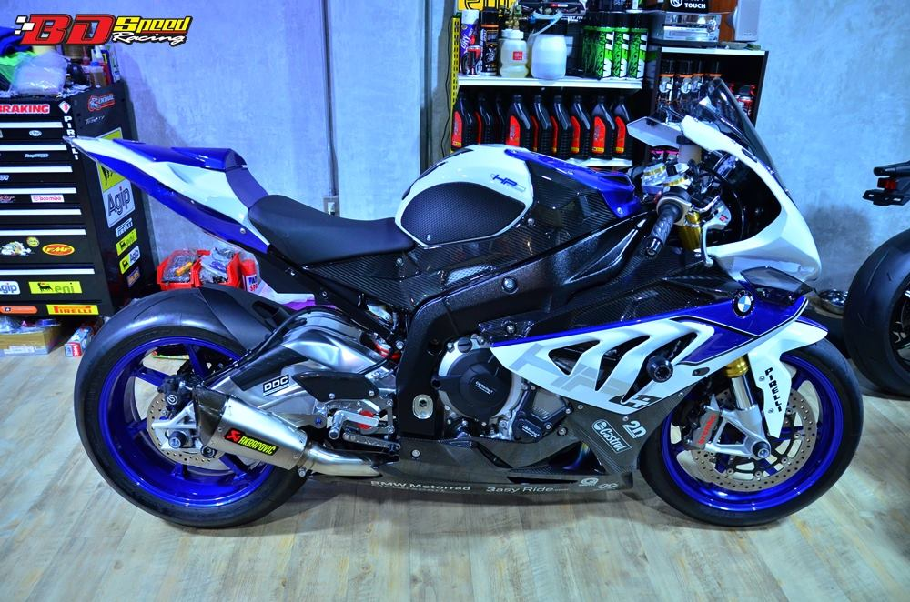 BMW HP4 sieu ca map xuong pho - 5