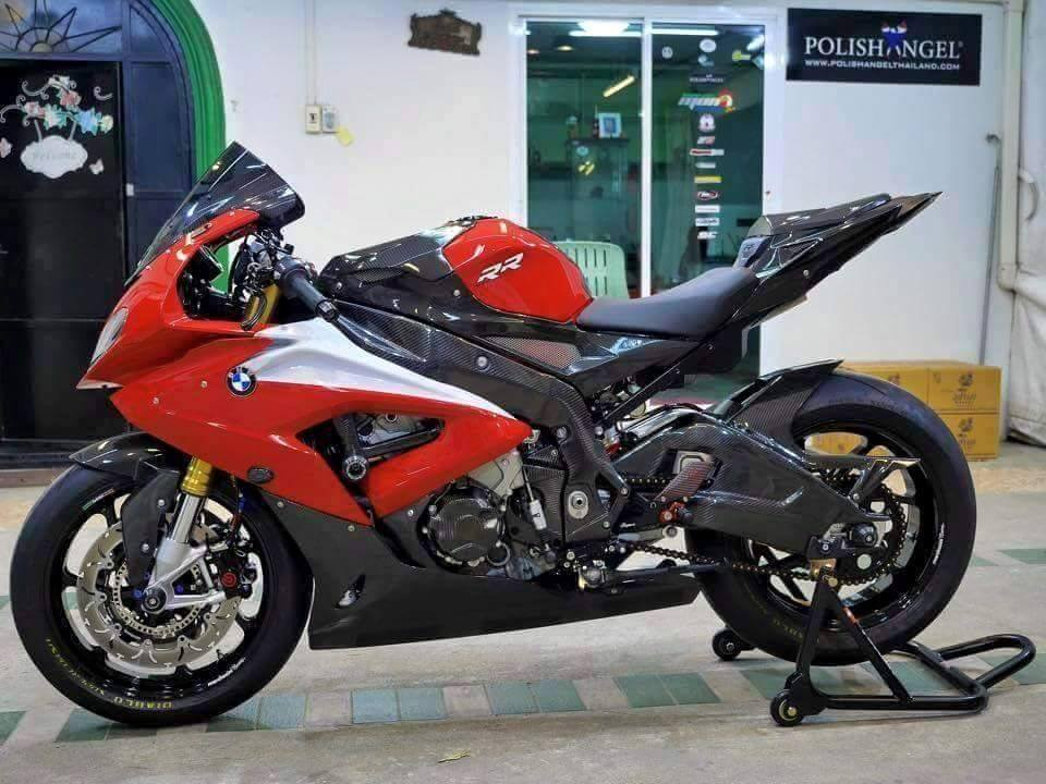 BMW S1000RR 2015 phien ban Carbon cuc chat cung nhieu option khung
