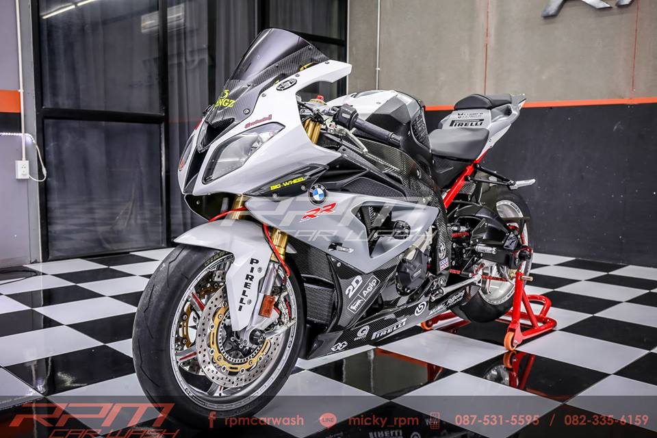 BMW S1000RR do sieu chat tu RPM CarWash