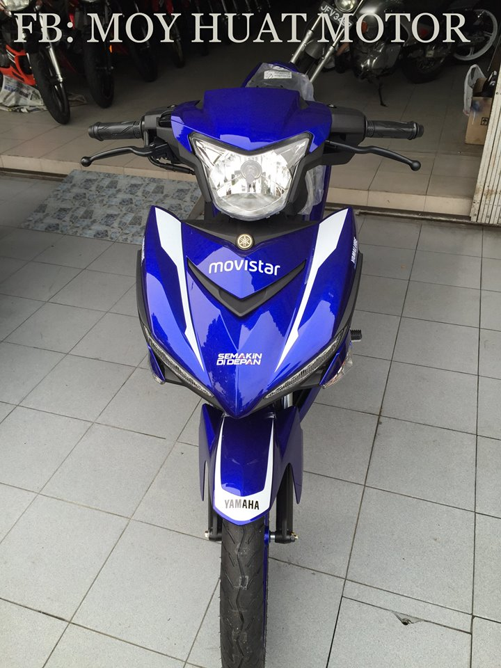 Can canh Yamaha Y15ZR phien ban Movistar - 2