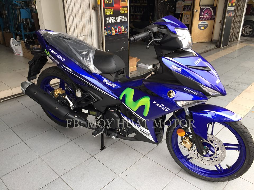 Can canh Yamaha Y15ZR phien ban Movistar - 4